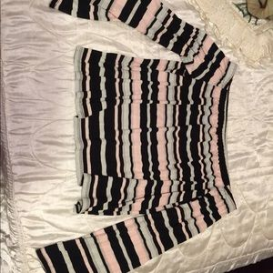 Rue21 Tops - Striped off The Shoulder top